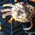 Halloween : des araignées pour le goûter !