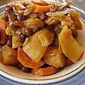Mitonnée de légumes confits au miel