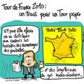Tracé, tour de france, 2010, direct et étapes en ligne