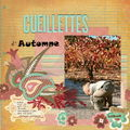 cueillettes d'automne