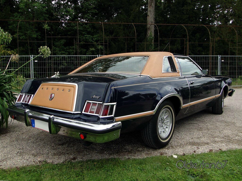 Mercury Cougar Xr 7 Hardtop Coupe 1977 224 1978