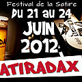 Satiradax 2 les dates !