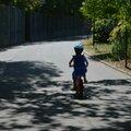 L'enfant au vélo