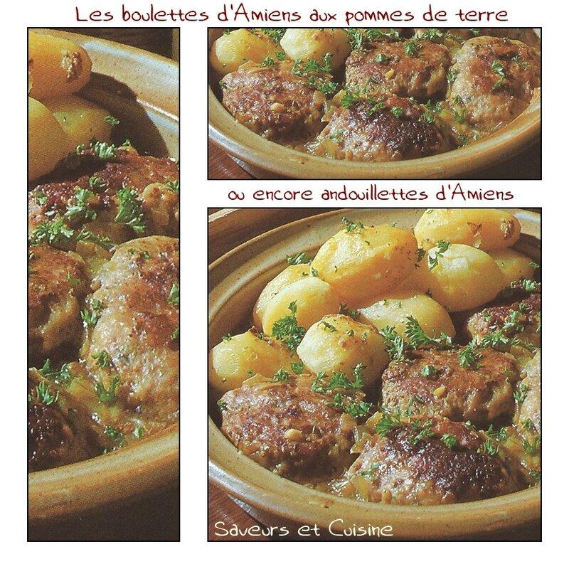 Les boulettes d'Amiens aux pommes de terre