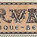 Abbaye d'Orval, reconstruction, 5ème série, brun 5F + 30F