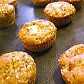 Mini muffins a la chataigne