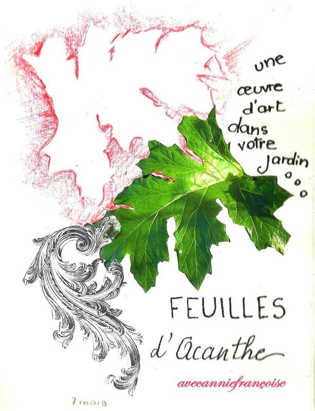 feuilles d'acanthe 2