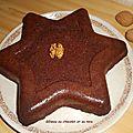 Gâteau au chocolat et au noix