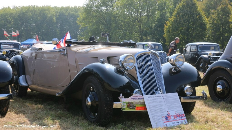 Photos JMP © Koufra12 - Traction avant 80 ans - 00296