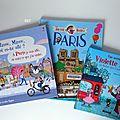 Découvrir paris... sélection de livres pour enfants