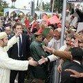 صور التحام الملك و الشعب