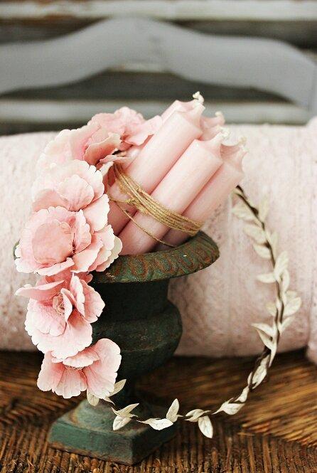 vase bougies