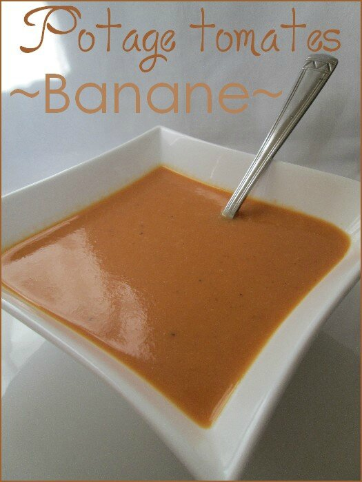 Potage tomates - banane 1