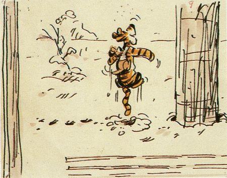 Les Aventures de Winnie l'Ourson - Storyboards 19