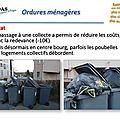 Qualité de vie à brindas - les ordures ménagères