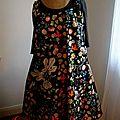 robe fleurie entière
