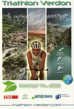 Triathlon CPM Verdon 2012