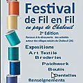 Chabeuil : festival de fil en fil