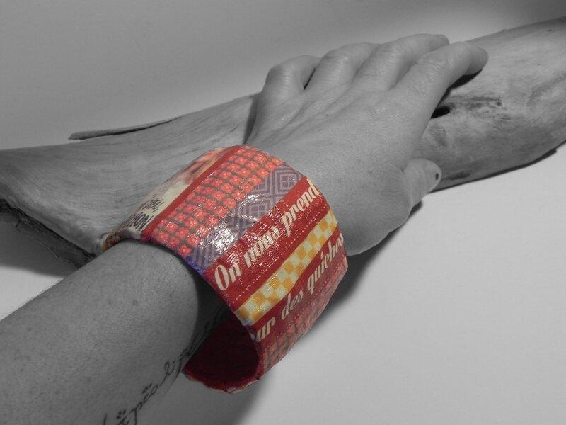 Bracelet Causette porté