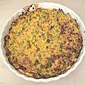 Ma tarte aux poireaux et curry