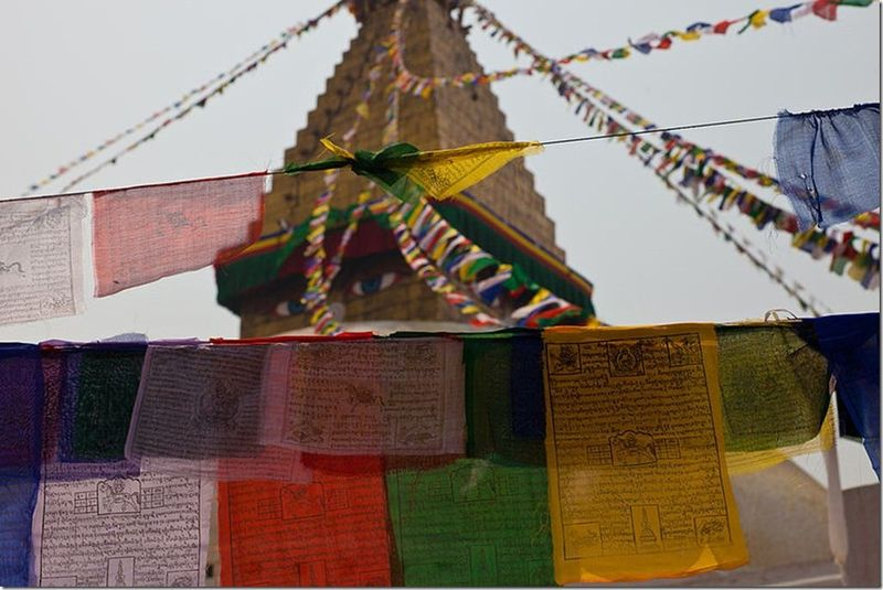 Boudinath_Prayer_Flags_(4777583607)