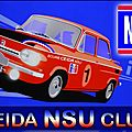 6ème réunion du ceida nsu club - france - dimanche 3 juillet 2016 / 6th reunion of ceida nsu club - france - sunday 3 july 2016