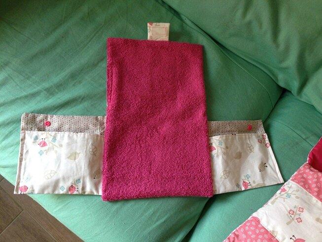 tapis à langer corolle 30 cm 2
