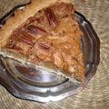 Tarte aux noix de pecan et sirop d'erable