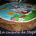 Gâteau poire chocolat pralin