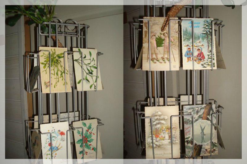 Un tourniquet de voeux le bazar de sophie picoteuse - Presentoir carte postale mural ...