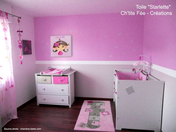 D co fee chambre fille - Chambre de bebe fille decoration ...