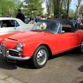 Alfa romeo giulietta sprint convertible (Retrorencard avril 2011) 01