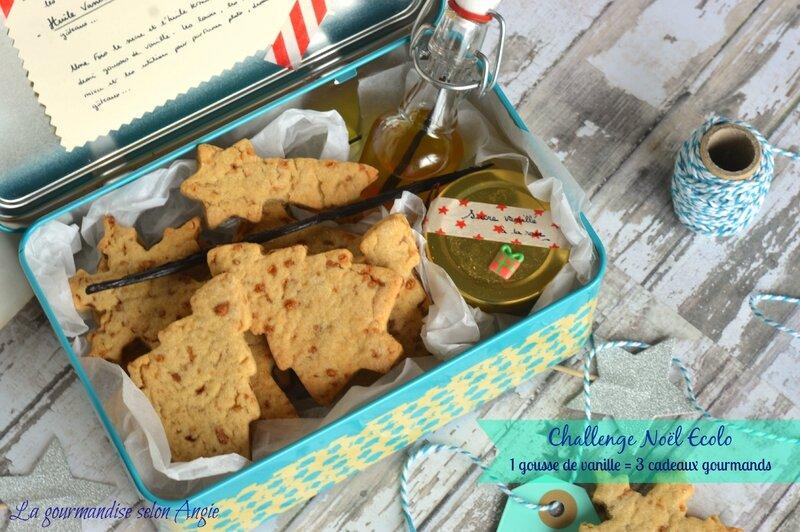 recette cadeau noel vegetalien - biscuits a la vanille vegan huile vanille et sucre rose 2
