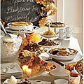 Comment préparer un repas de thanksgiving comme un vrai américain ?