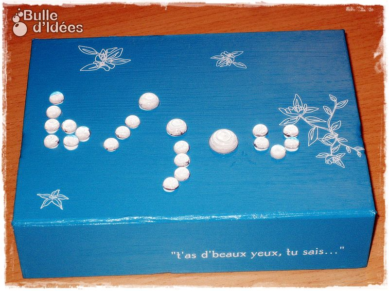 Boite bijoux bulle d 39 id es - Fabriquer une boite a bijoux ...