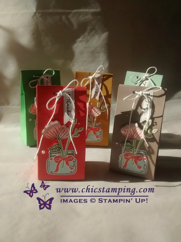 Gift bags with jar 1