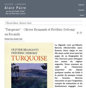 Turquoise - Alain Paire