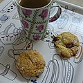 Scones & cup of tea