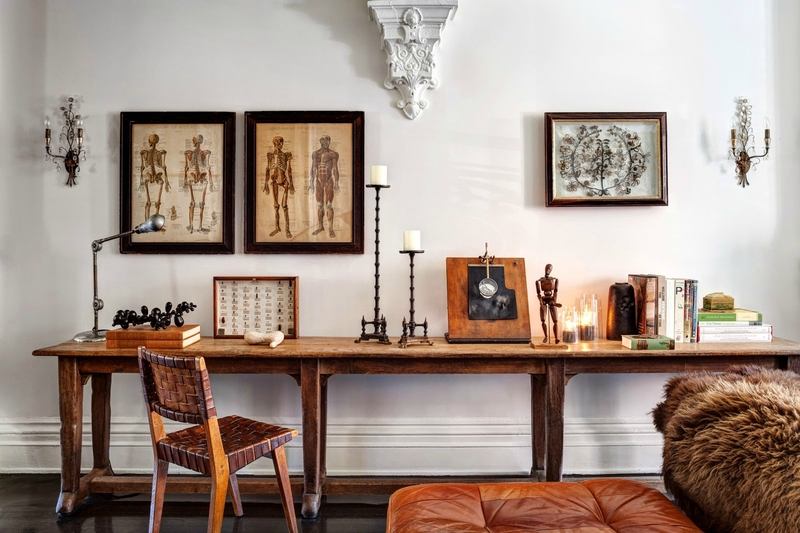 Jenna LYONS old brooklyn townhouse-trcy-martin-nytimes-2014-habituallychic