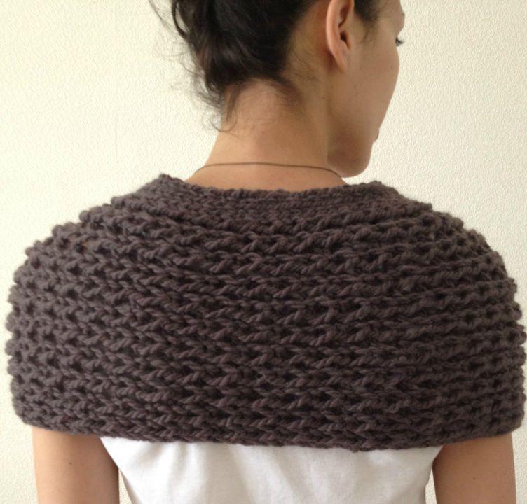 comment tricoter une pelerine