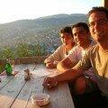 Bosnie, Sarajevo, bière au sommet d'une colline