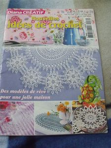 diana creatif ides crochet n 158