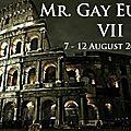 Les premiers candidats du concours mr gay europe 2012
