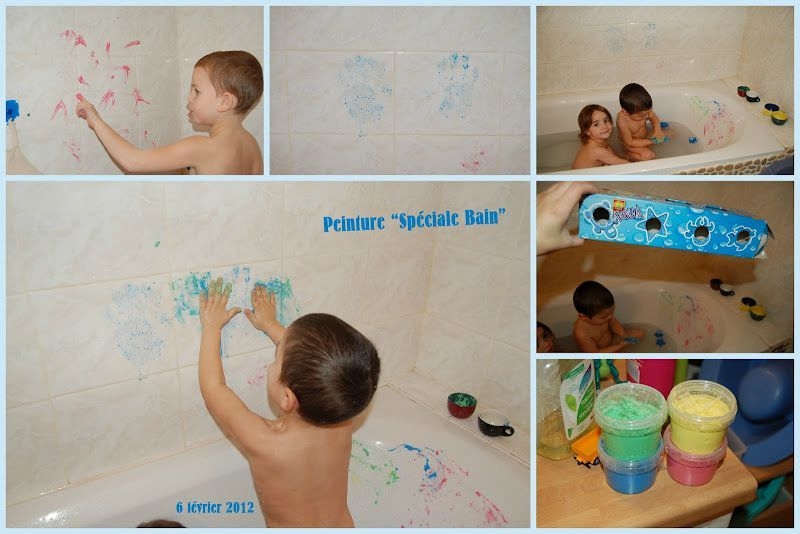 Peinture Pour Le Bain - Sweety Home