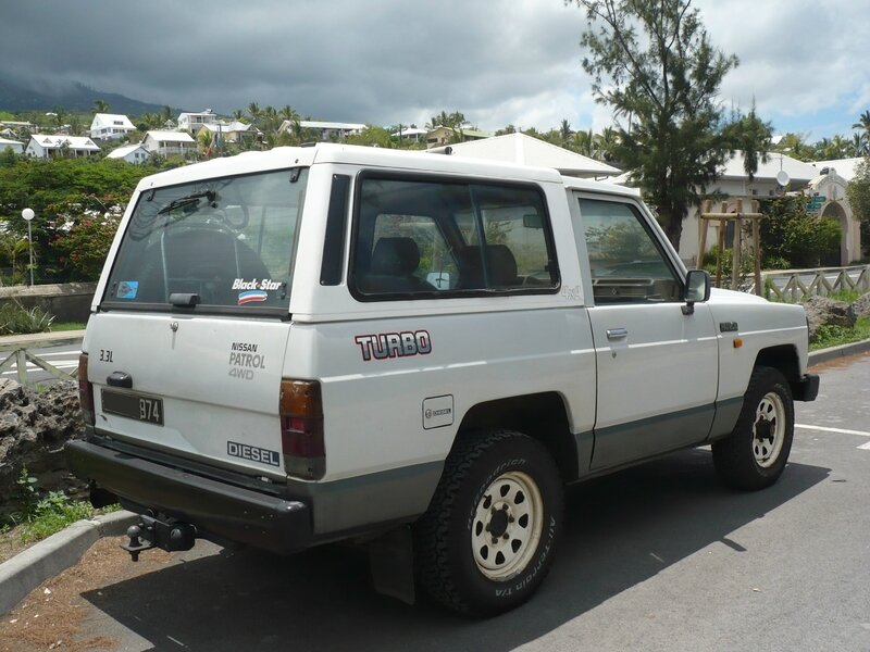 NISSAN Patrol 160 Series 3