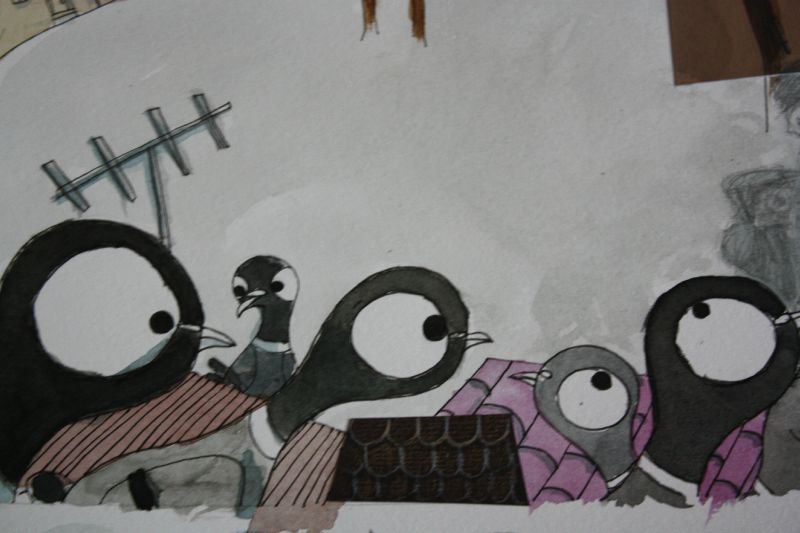 Les pigeons moqueurs
