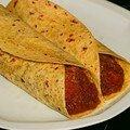 Tacos au potimarron et au mole