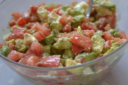 Ma salade d 39 avocats sp ciale barbecue le dessert du dimanche - Idee recette barbecue ...