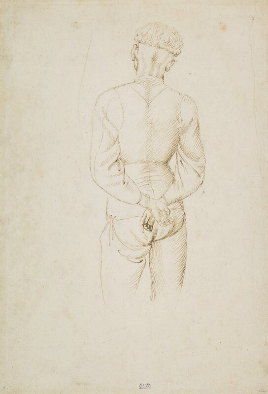 019_Study of a Young Man with his hands tied behind his back 2015AB01509