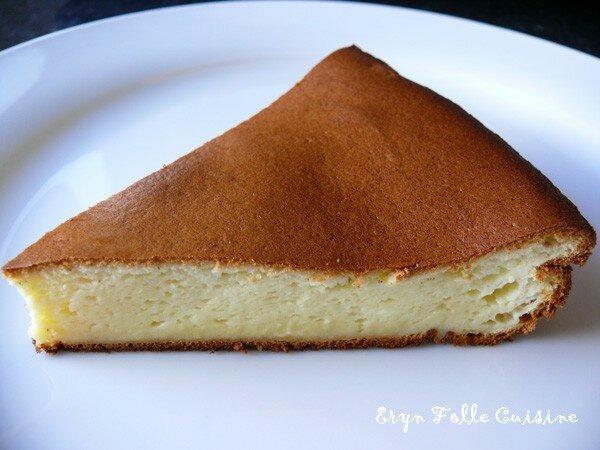 Tarta de queso dessert espagnol eryn et sa folle cuisine - Recette de cuisine en espagnol ...